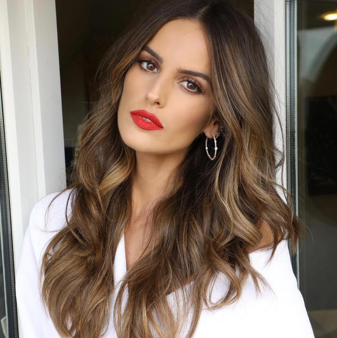 Izabel Goulart beauty