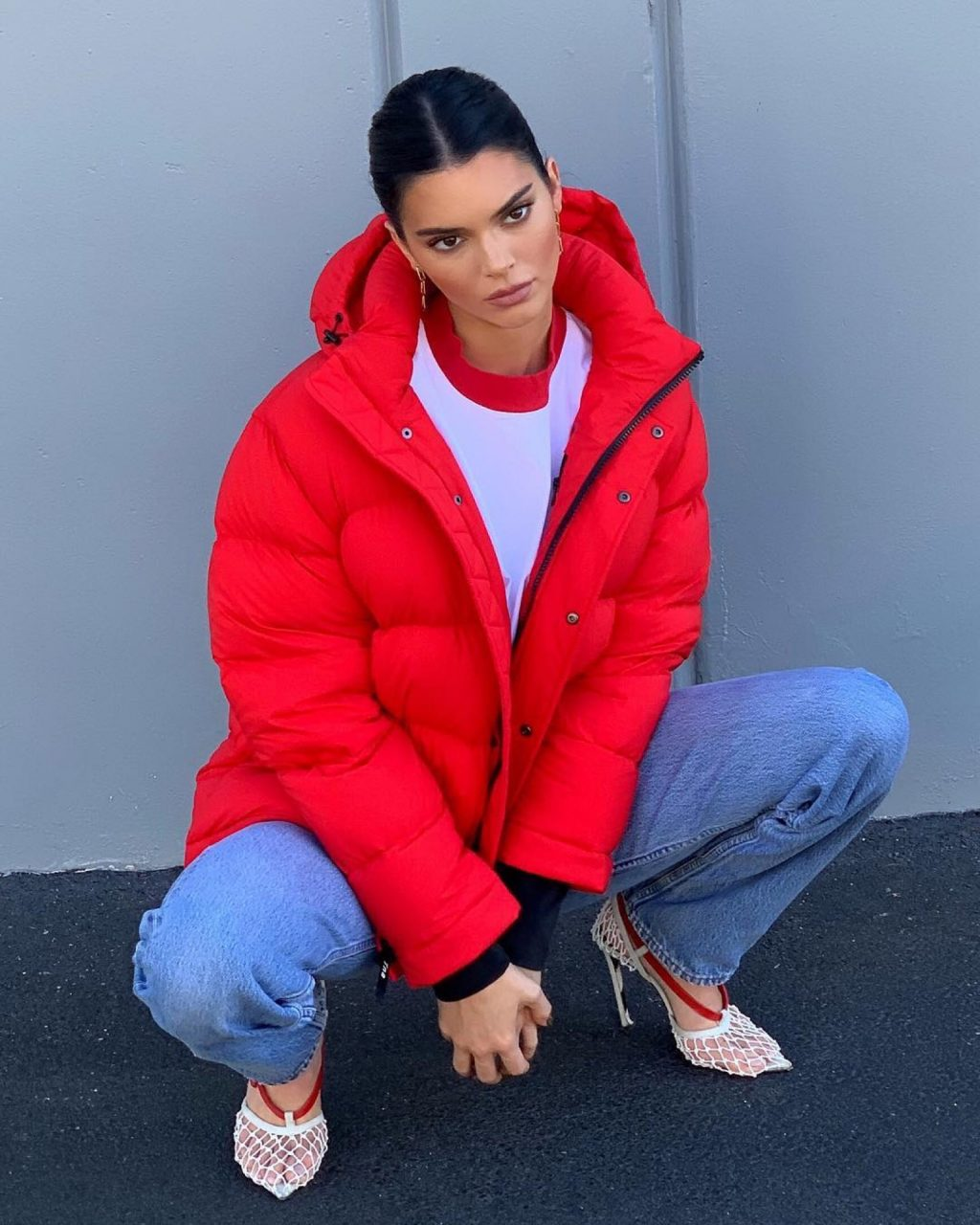 Kendall Jenner's New Heels Have Us Confused (But Also Infatuated)