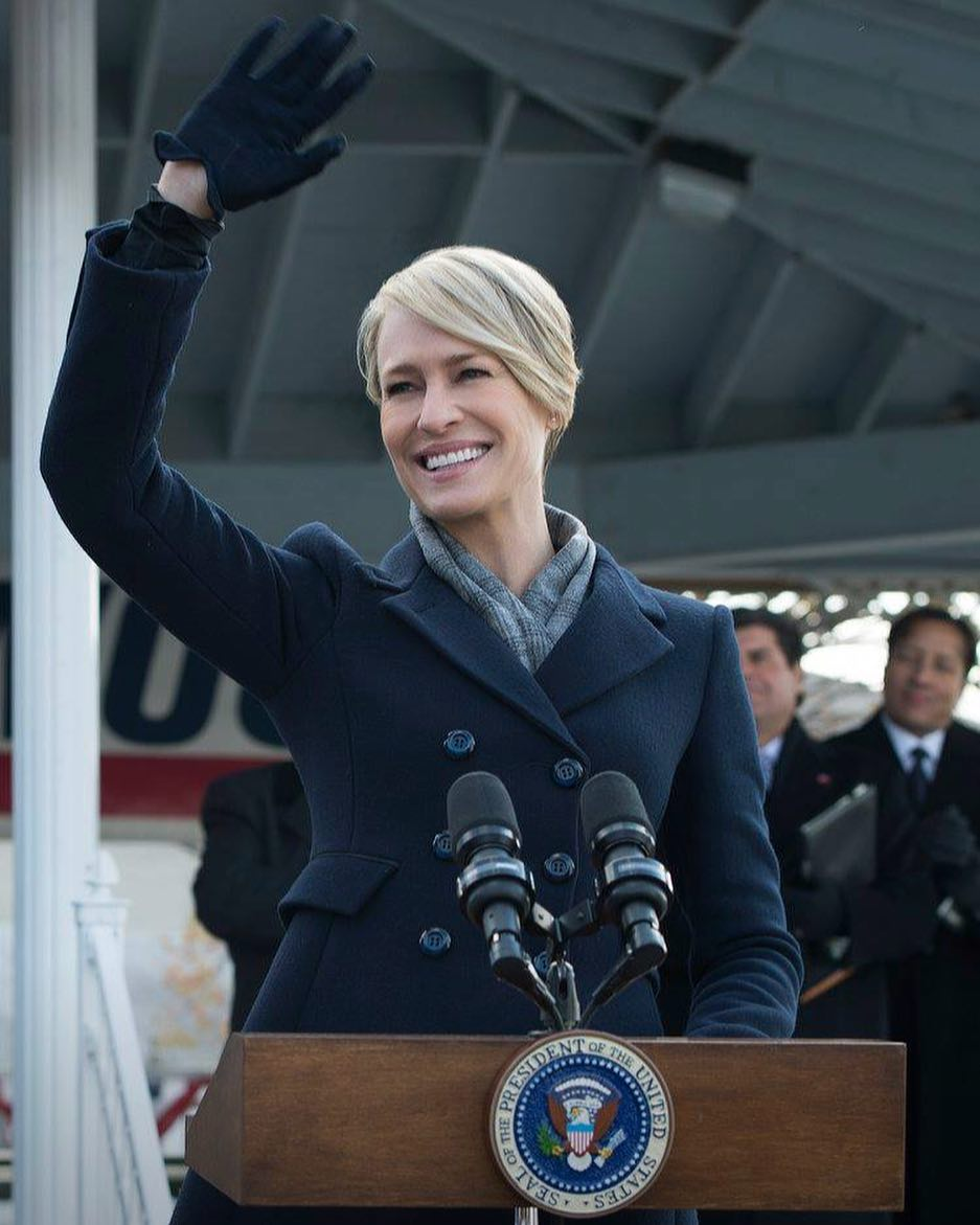 Hail to the (Fashion) Chief – Claire Underwood Is Back