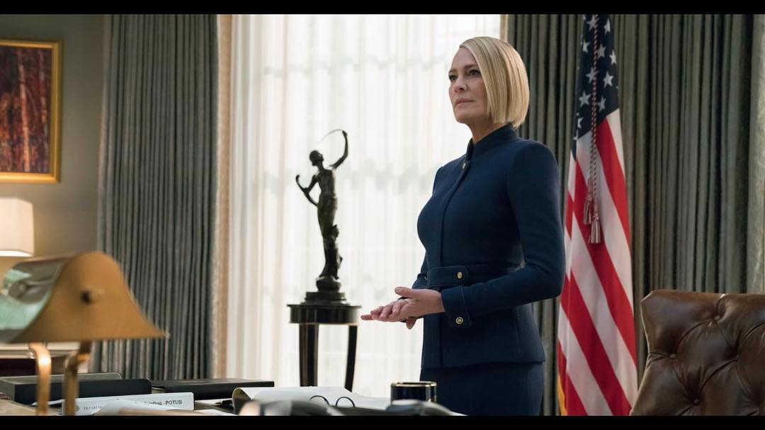 Claire underwood house of cards style