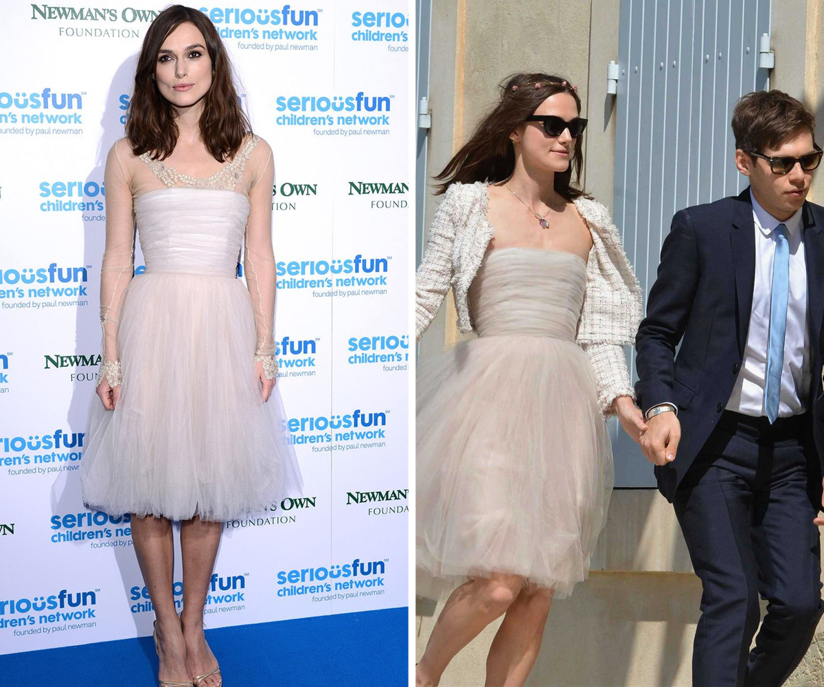 Keira Knightley Chanel dress