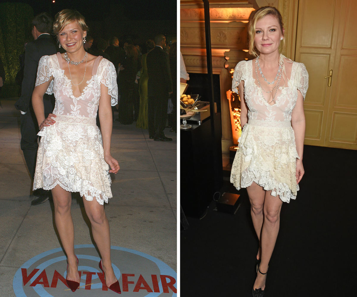 Kristen Dunst Christian Lacroix dress