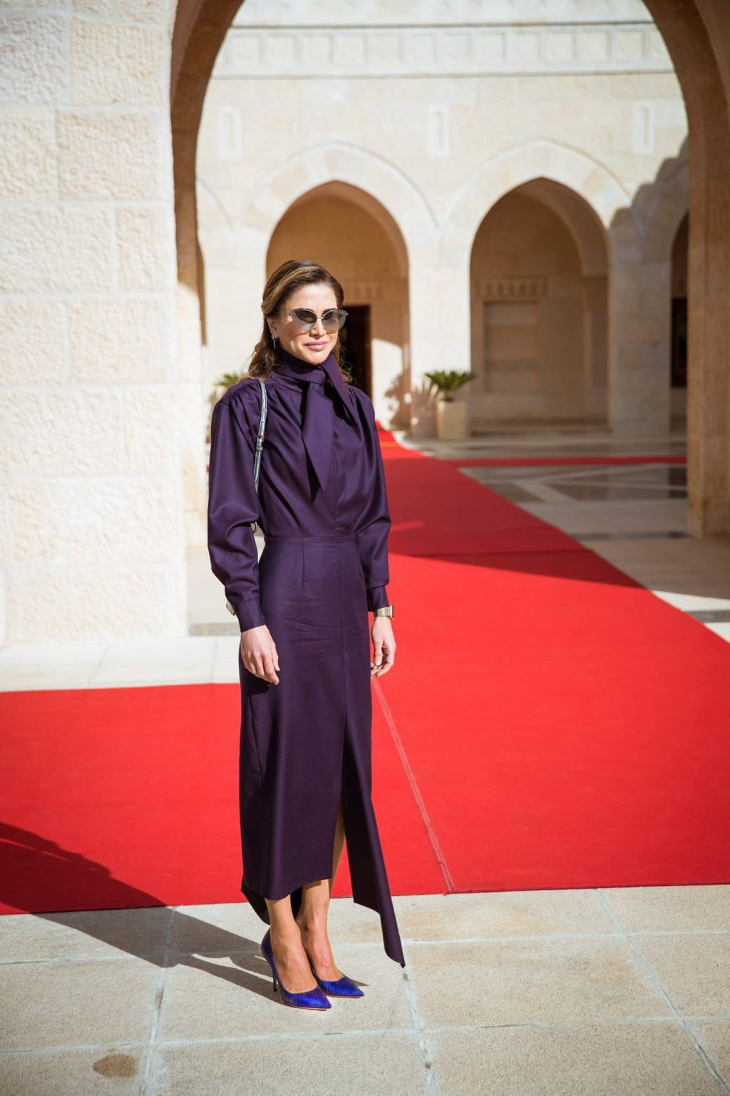Why Queen Rania Looked Twice as Regal in This Ensemble