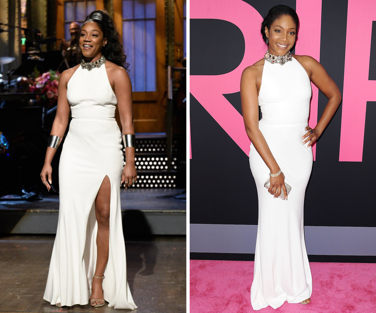 Tiffany Haddish Alexander McQueen dress