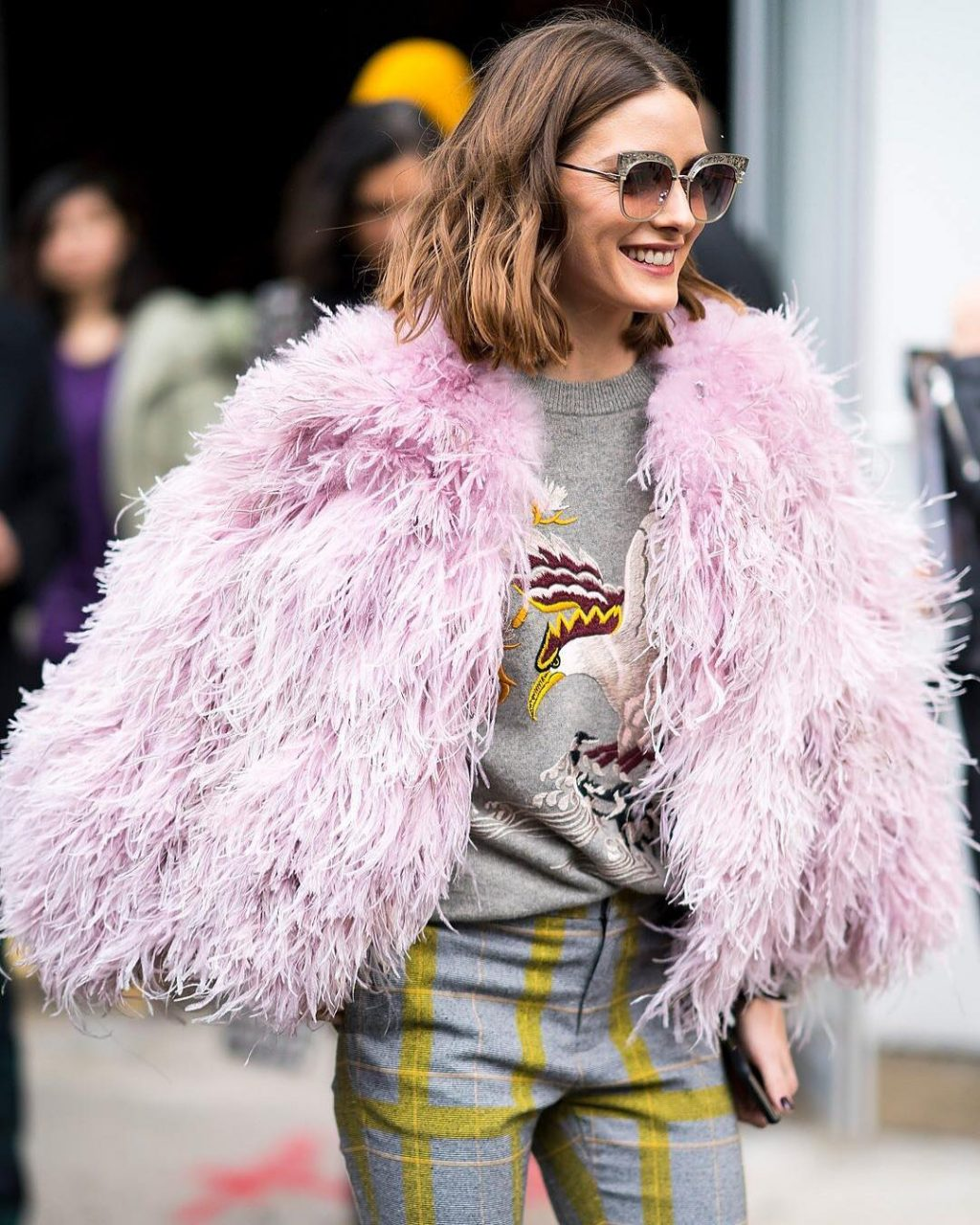 Pink Plumage and Patent Pants – What Caught Our Eye on Instagram This Week