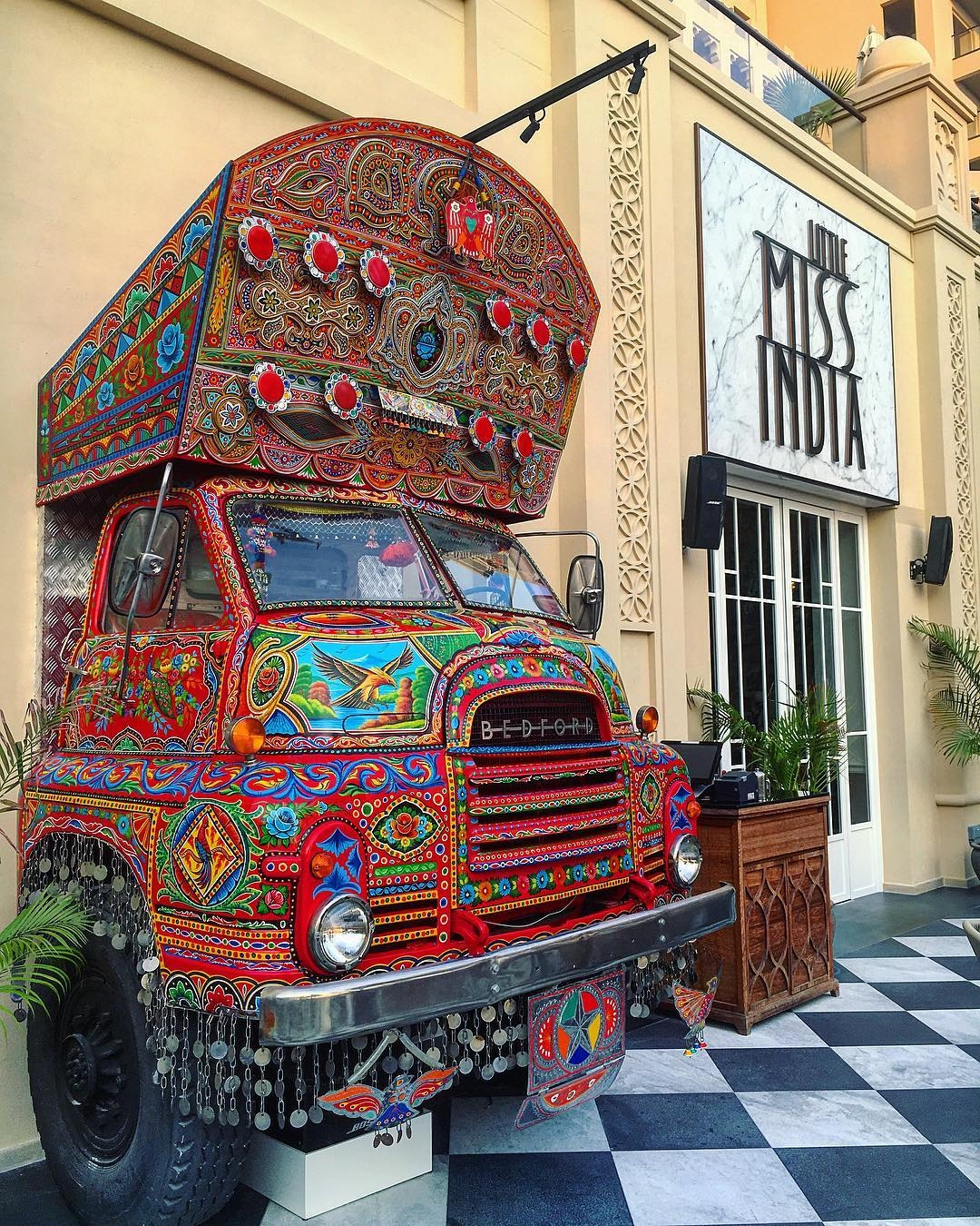 truck art little miss india