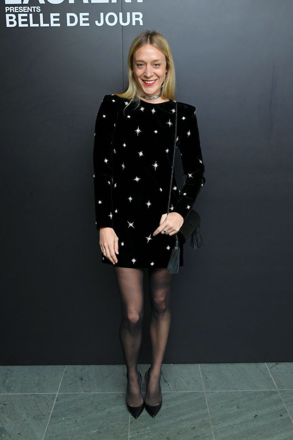 "NEW YORK, NEW YORK - DECEMBER 19: Actress Chloë Sevigny attends the Saint Laurent Presents ""Belle De Jour"" 50th Anniversary Screening at Museum of Modern Art on December 19, 2018 in New York City. (Photo by Mike Coppola/Getty Images)"