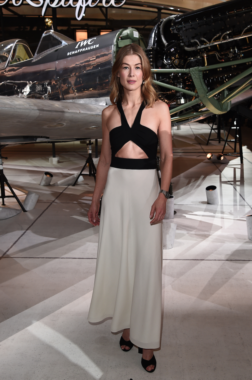 Even If Rosamund Pike Is Late, She's Right on Time