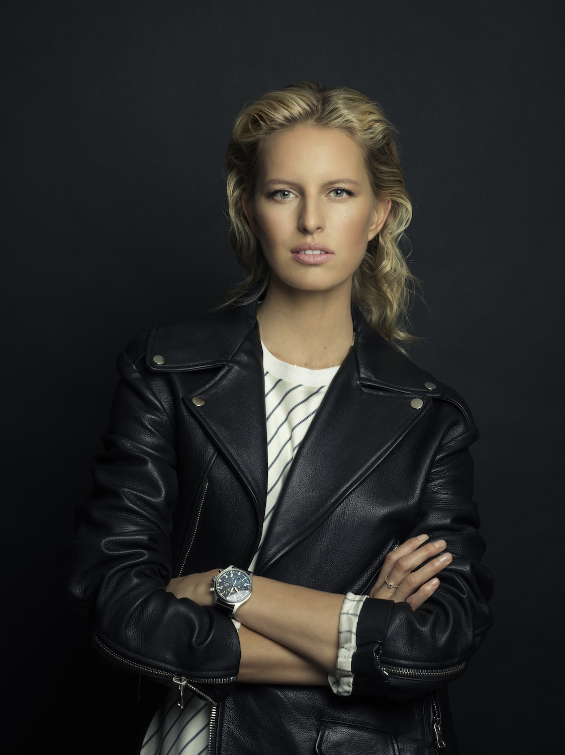 Karolina Kurkova for IWC watches