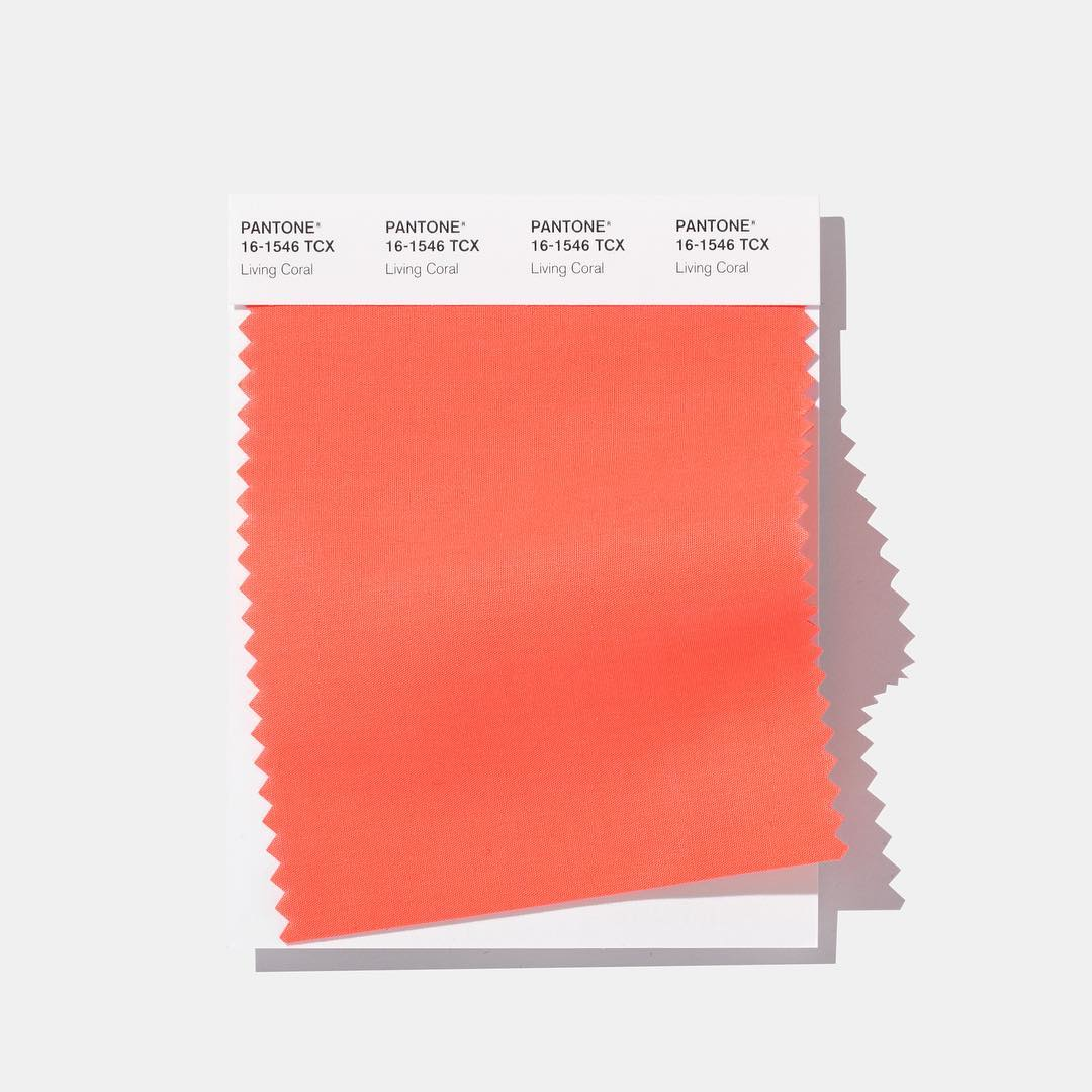 pantone 2019 living coral beauty