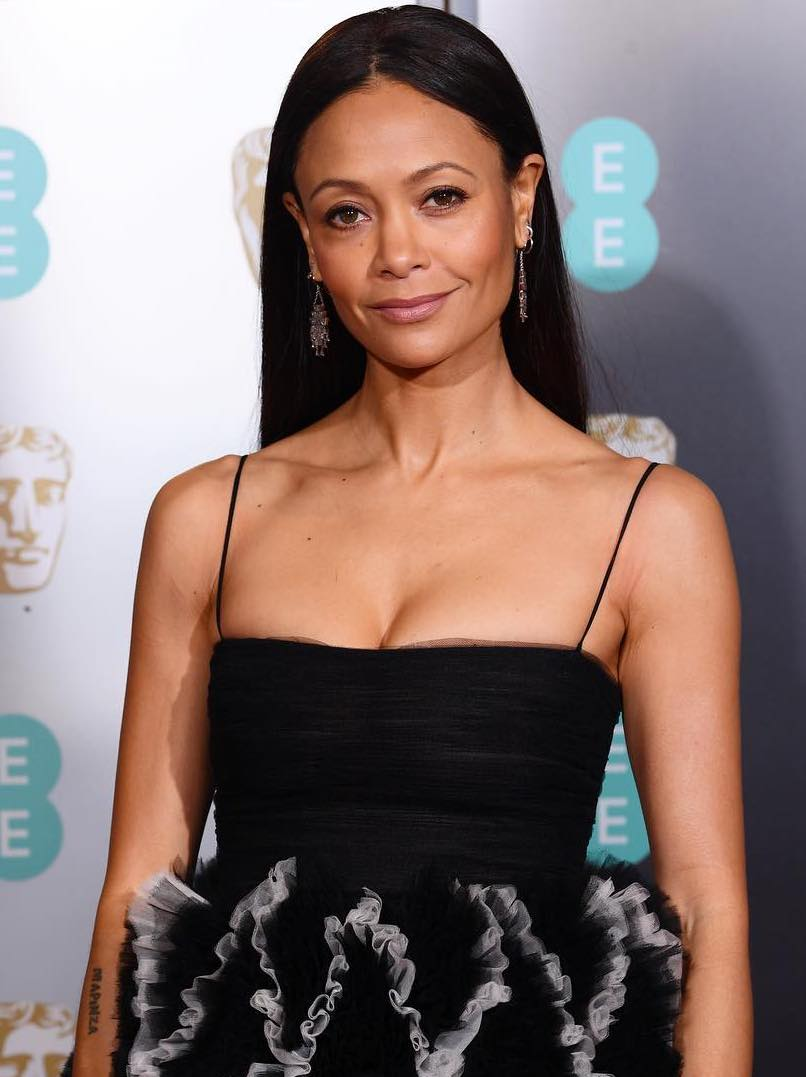 2019 BAFTAs beauty thandie newton