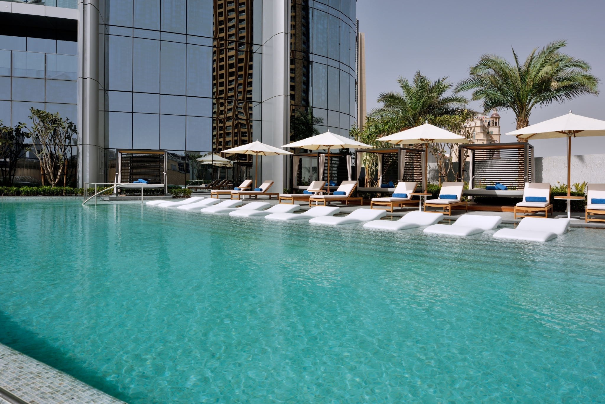 Address Boulevard Dubai Spa pool