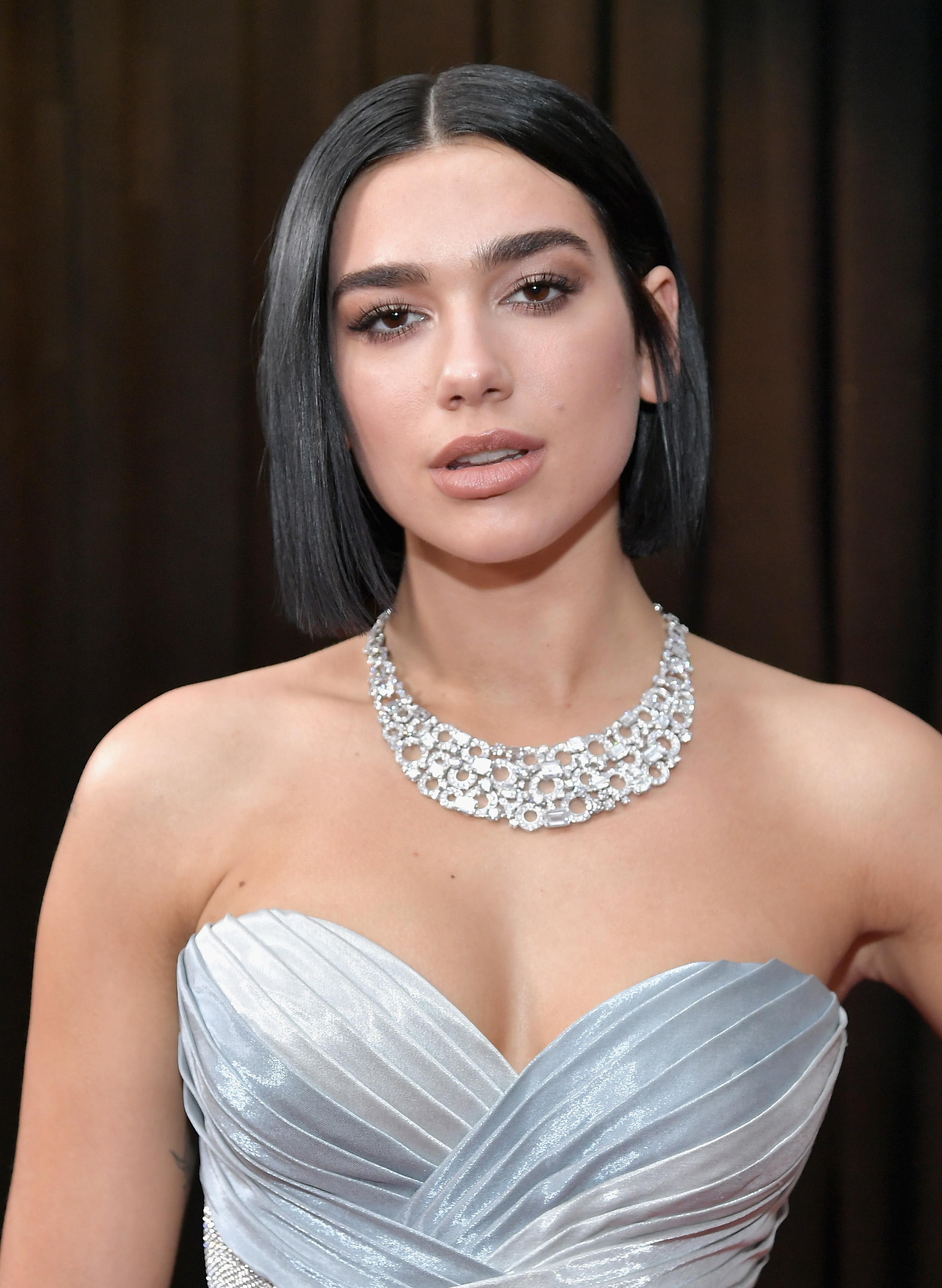 Grammys 2019 Beauty Dua Lipa