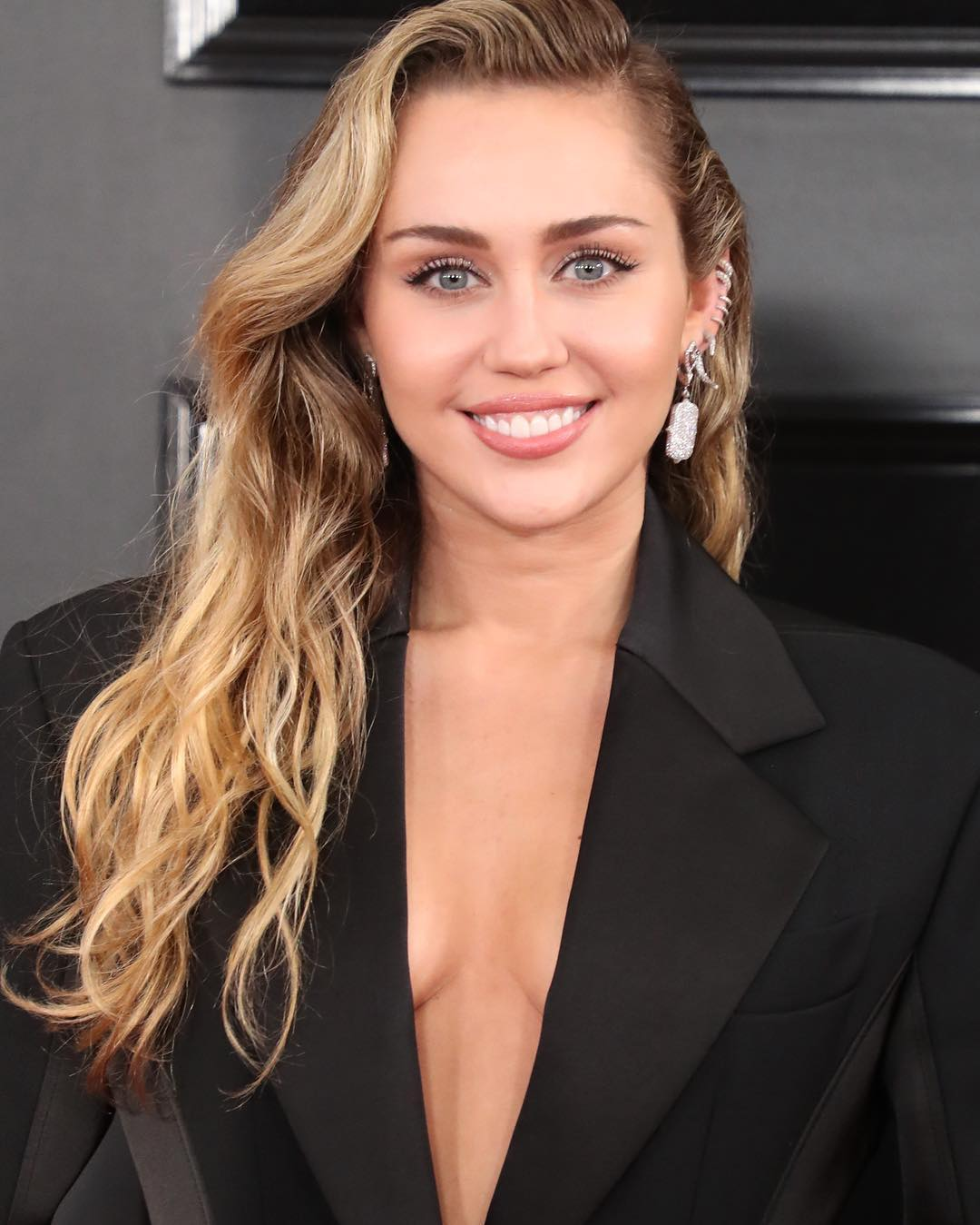 Grammys 2019 Beauty Miley Cyrus