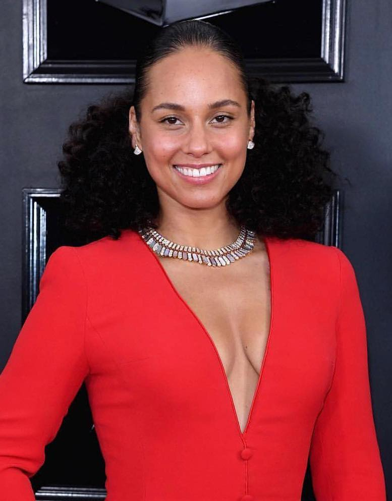 Grammys 2019 Beauty alicia keys