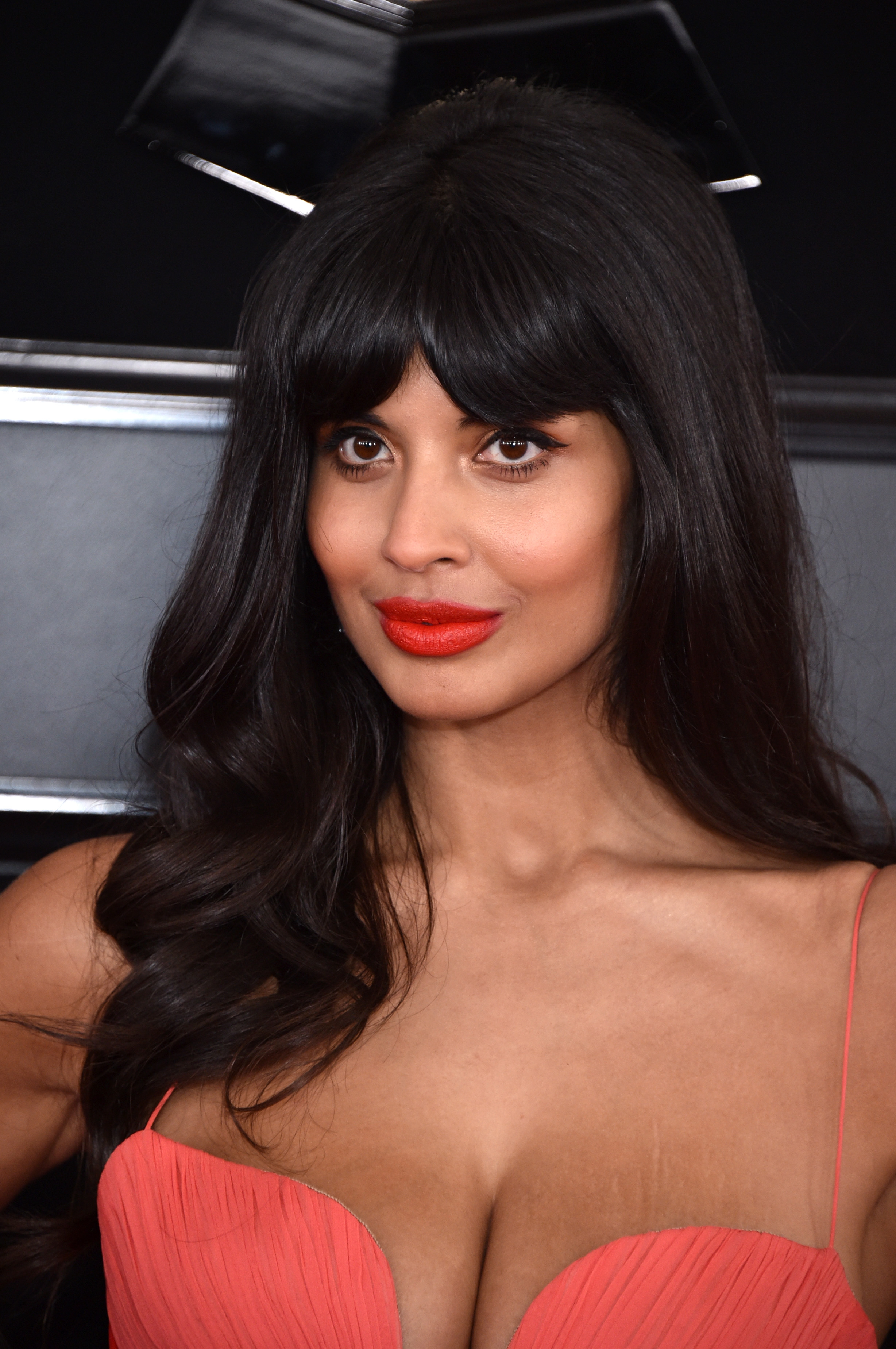 Grammys 2019 Beauty jameela jamil
