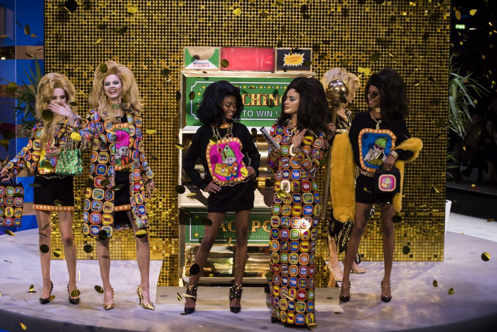 Moschino's Gameshow-Themed Collection Wins Big for Fall/Winter 2019