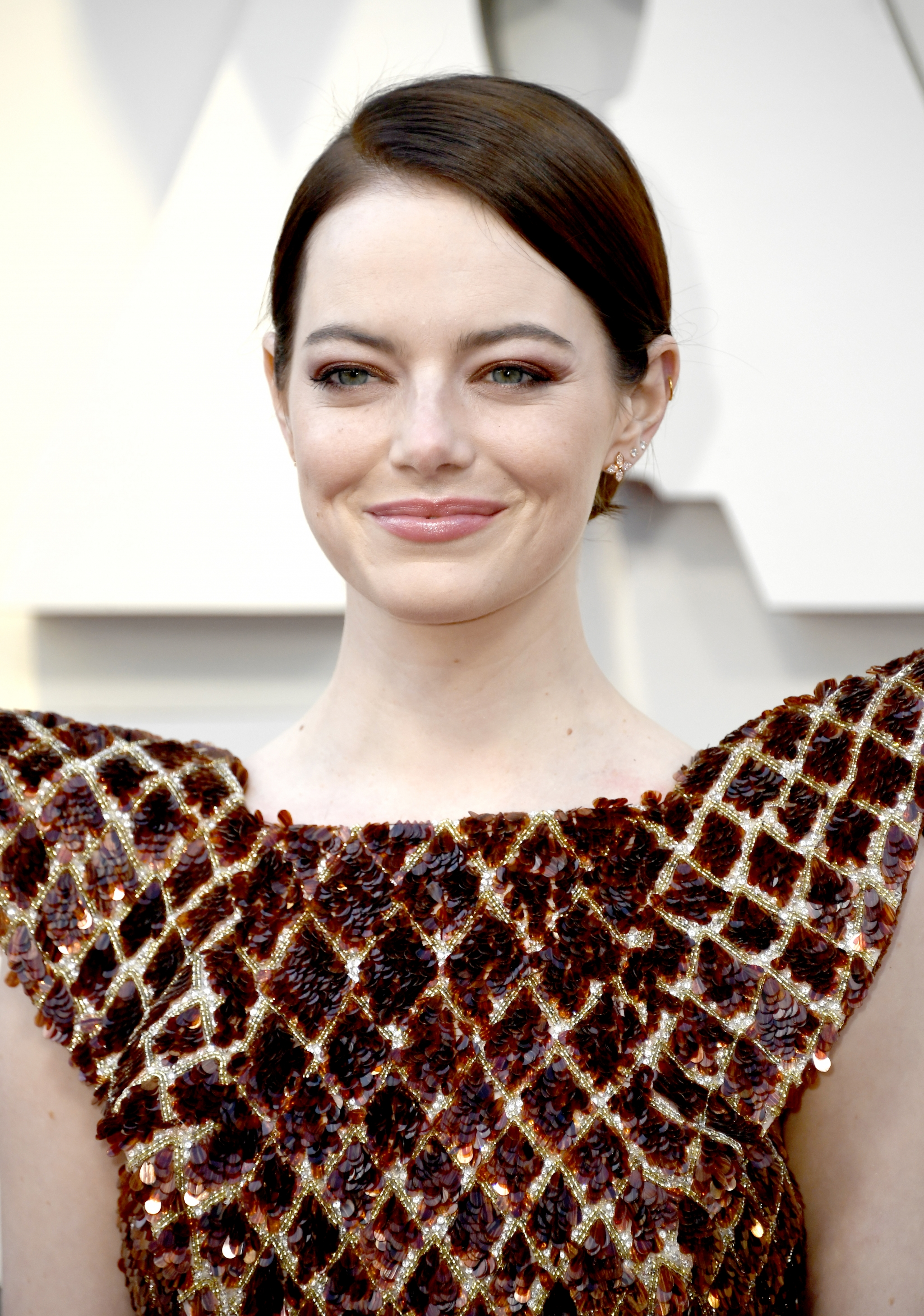 Oscars 2019 Beauty Emma Stone