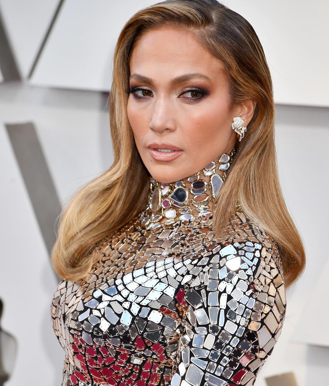 Oscars 2019 beauty Jennifer Lopez