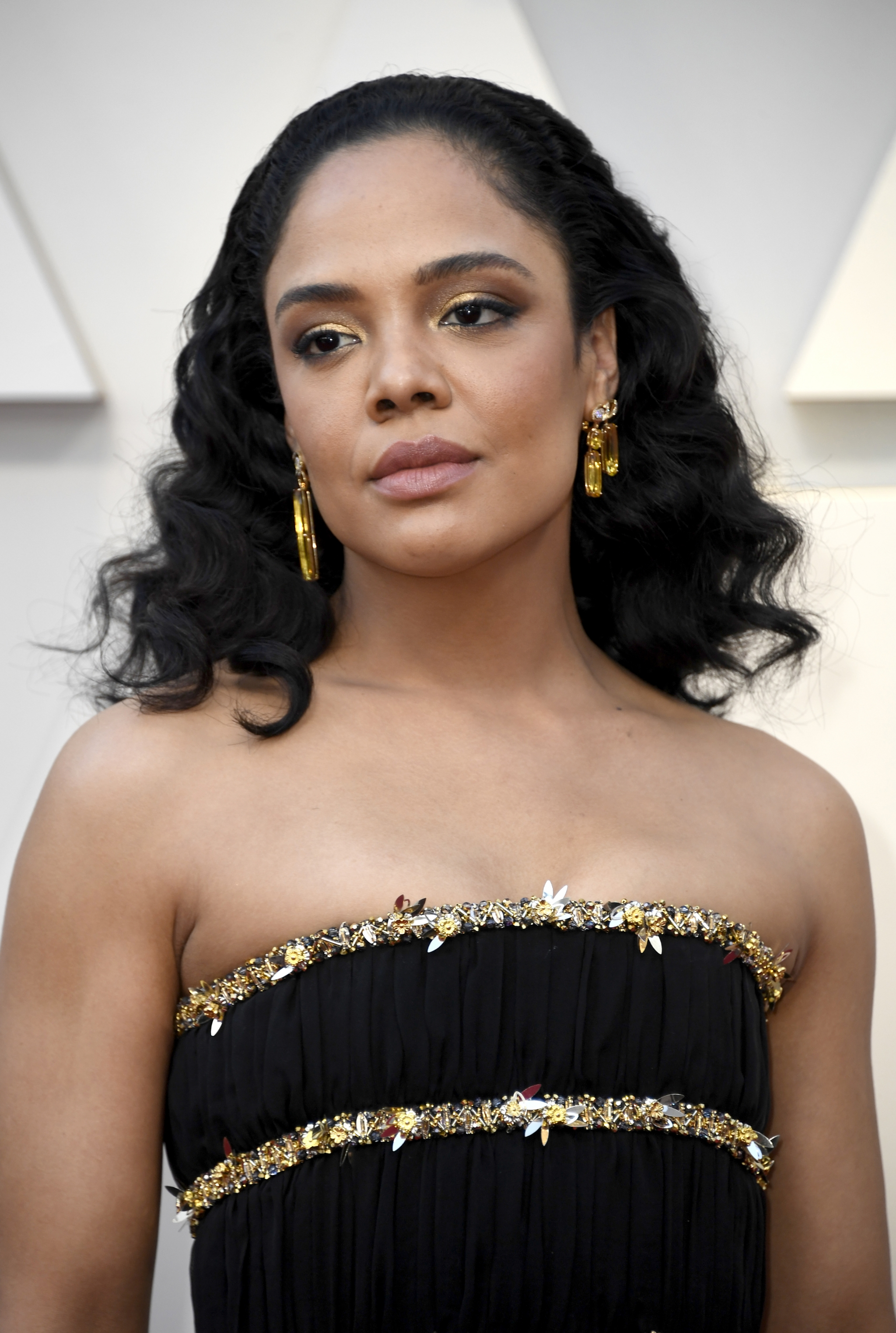 Oscars 2019 beauty Tessa Thompson