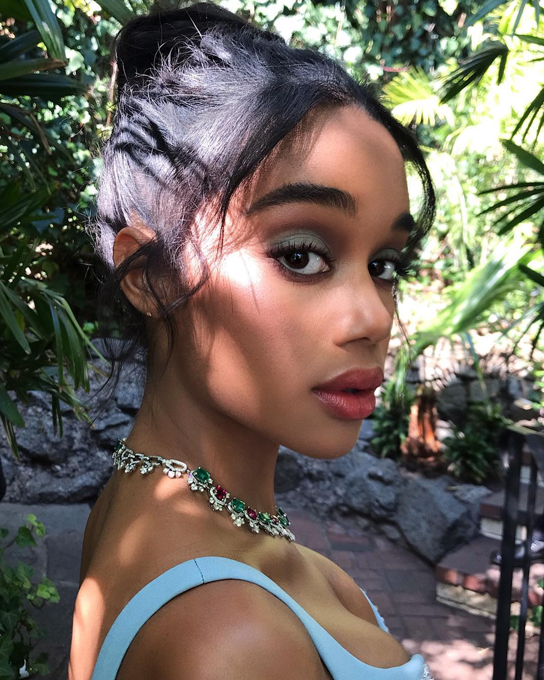 Oscars 2019 beauty laura harrier
