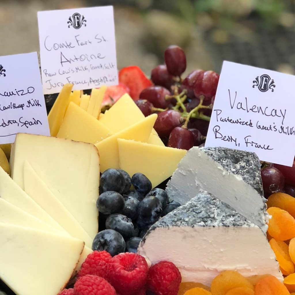 cheese board platter dairy