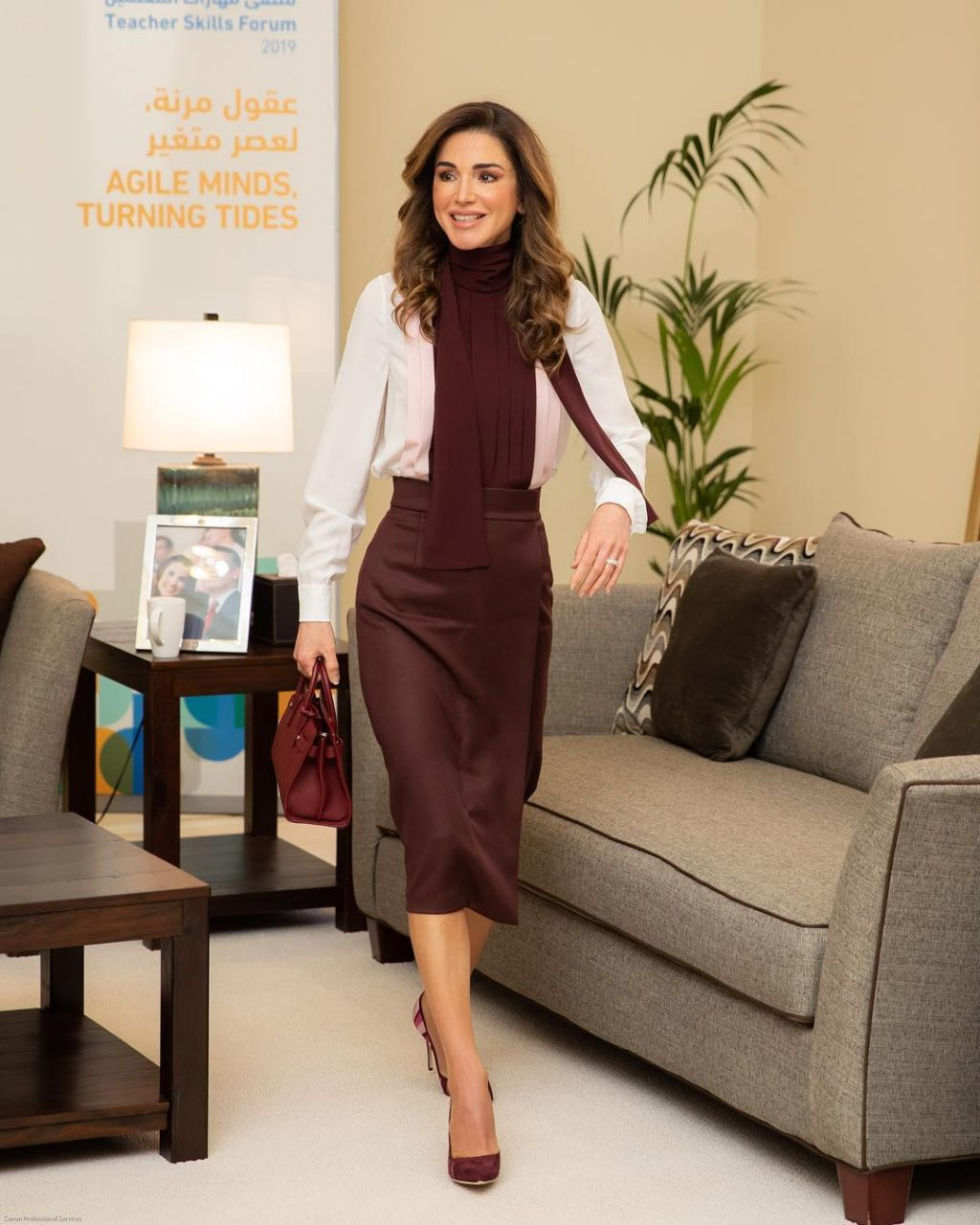 Queen Rania Just Gave Us an Office Outfit Idea – Again