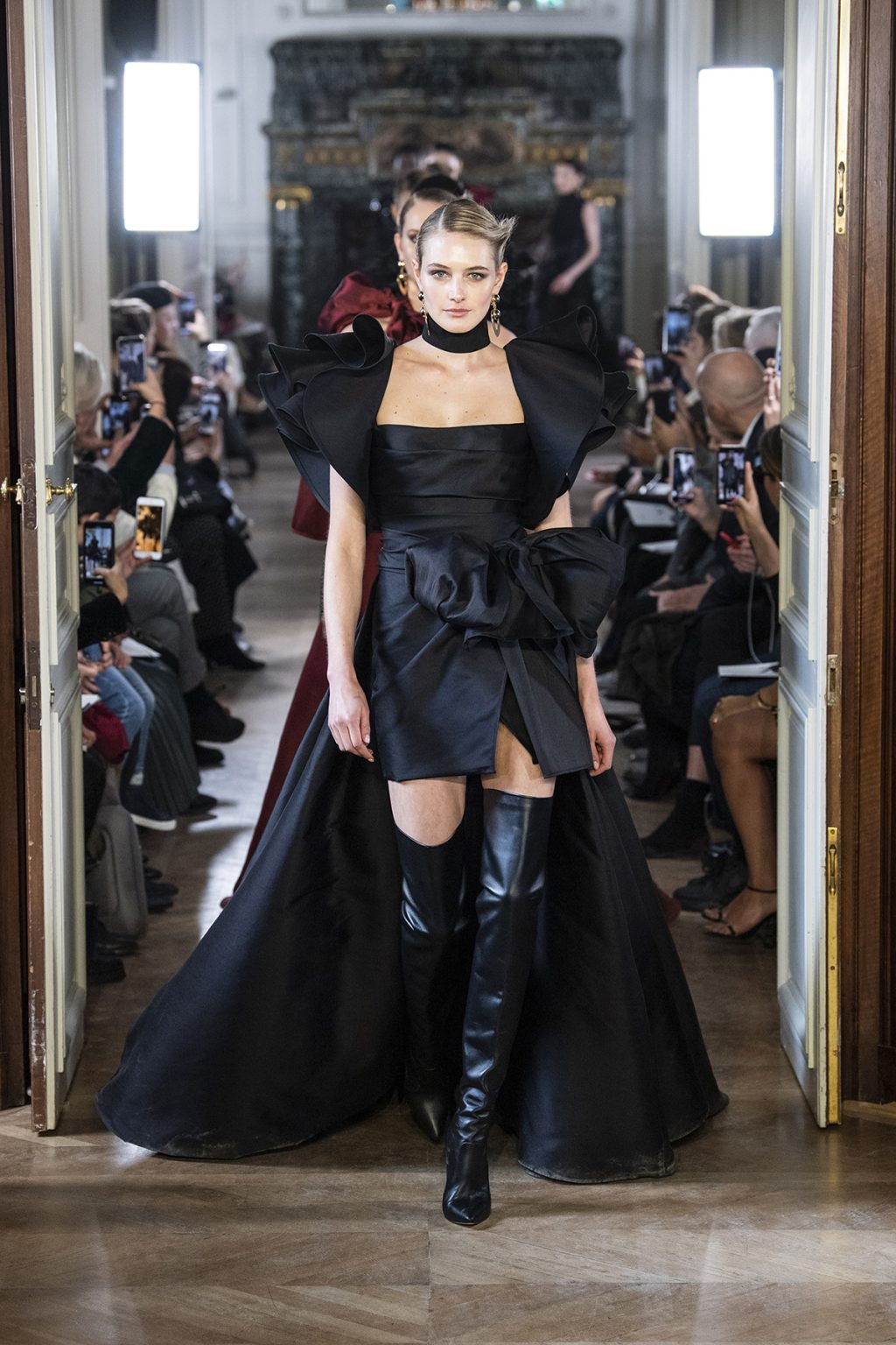 Elie Saab Gets Bitten by the Love Bug for Fall/Winter 2019