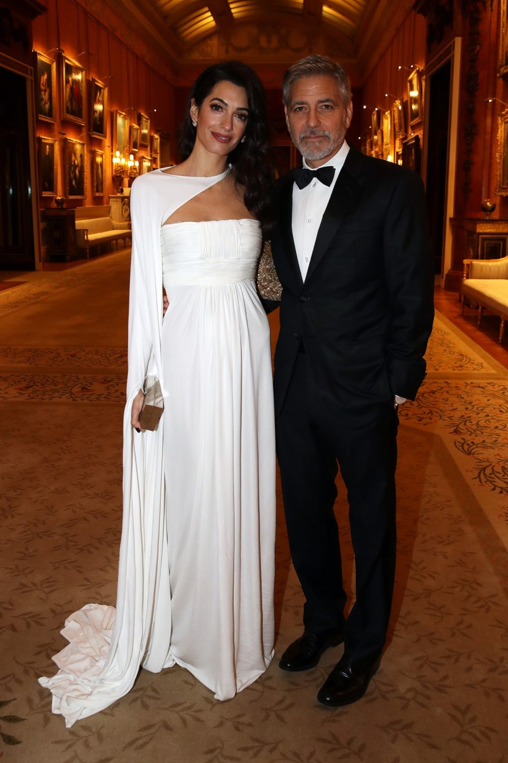 Leave It to Amal Clooney to Look More Regal than Most Royals