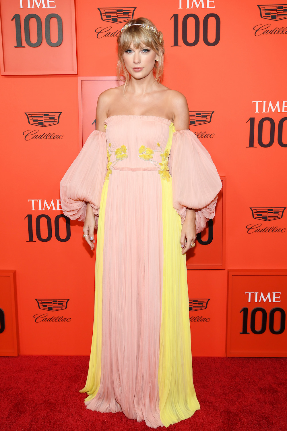 NEW YORK, NEW YORK - APRIL 23: Taylor Swift attends the TIME 100 Gala Red Carpet at Jazz at Lincoln Center on April 23, 2019 in New York City. (Photo by Dimitrios Kambouris/Getty Images for TIME)