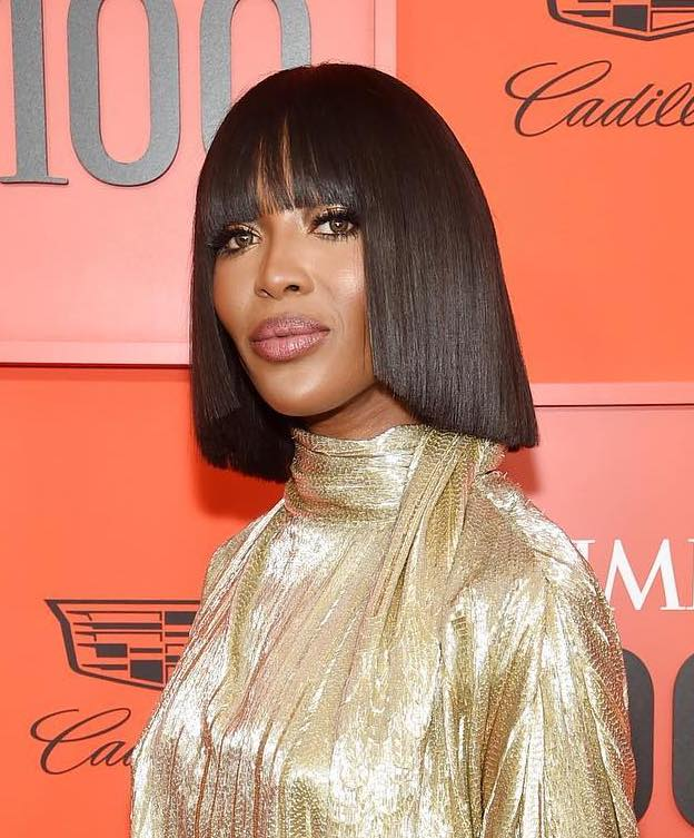 Time 100 beauty naomi campbell