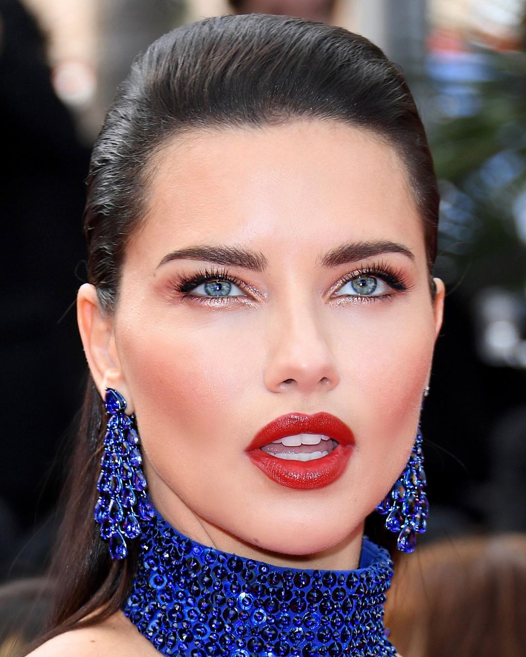 2019 cannes adriana lima beauty