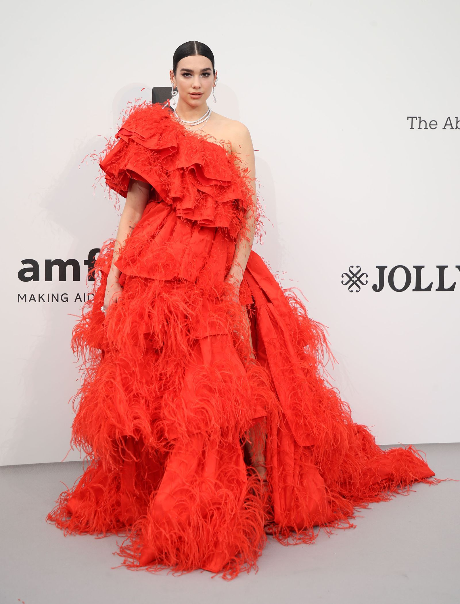 Dua Lipa attends the amfAR Cannes Gala 2019