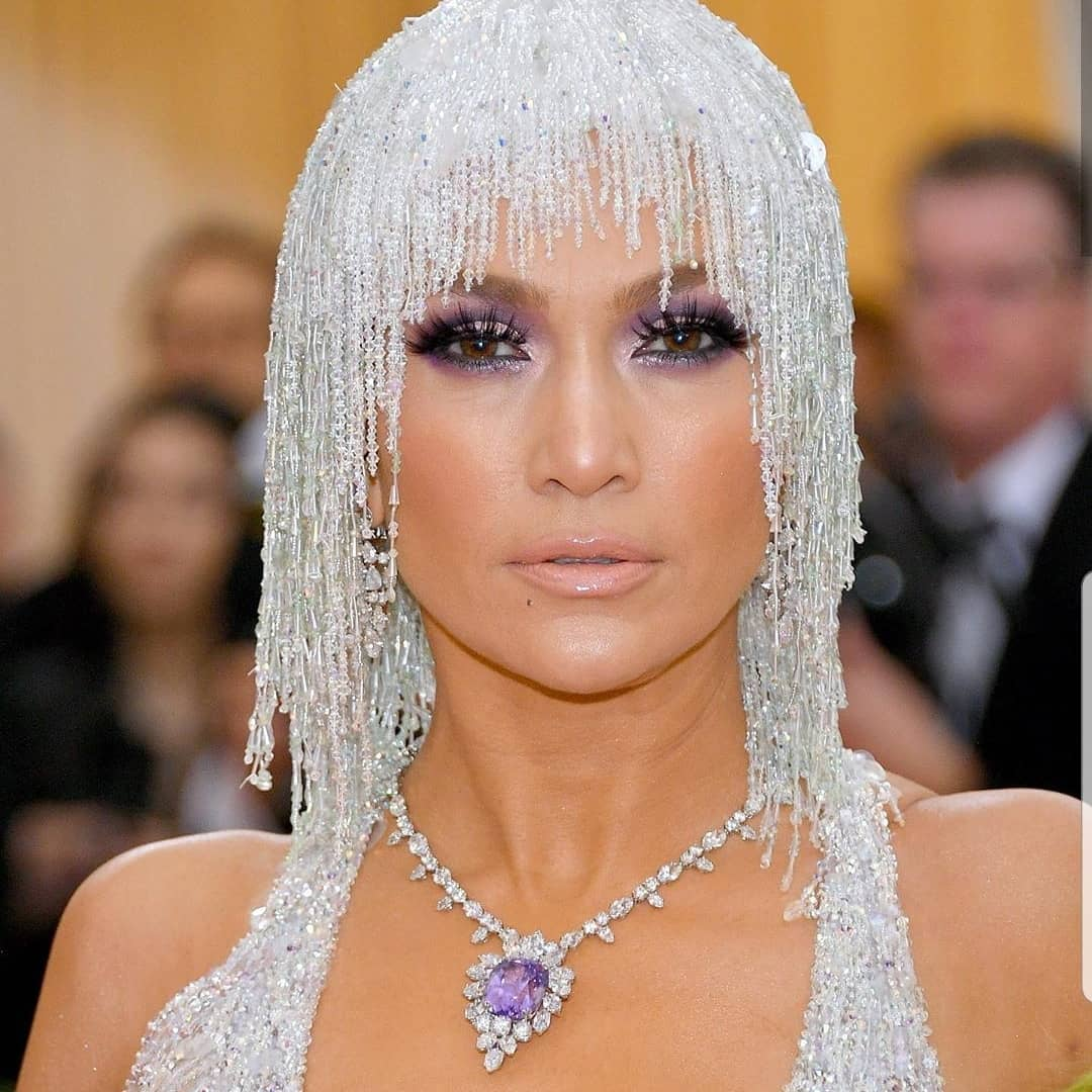 Met gala beauty jennifer lopez