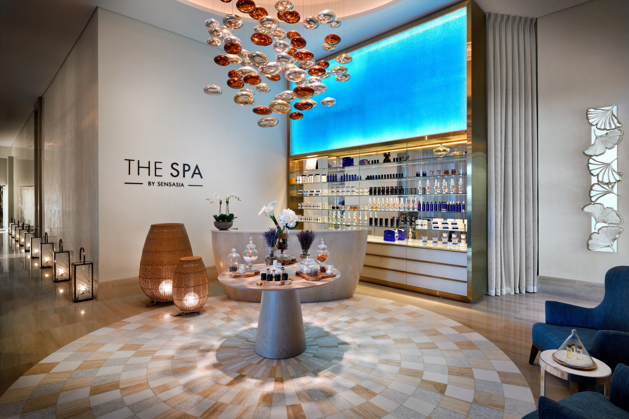 The Spa by Sensasia entrance tasting bar