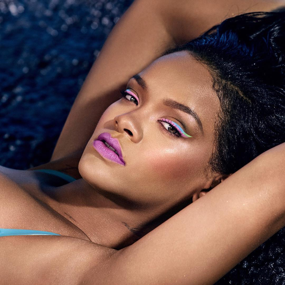 rihanna fenty beauty summer collection neon