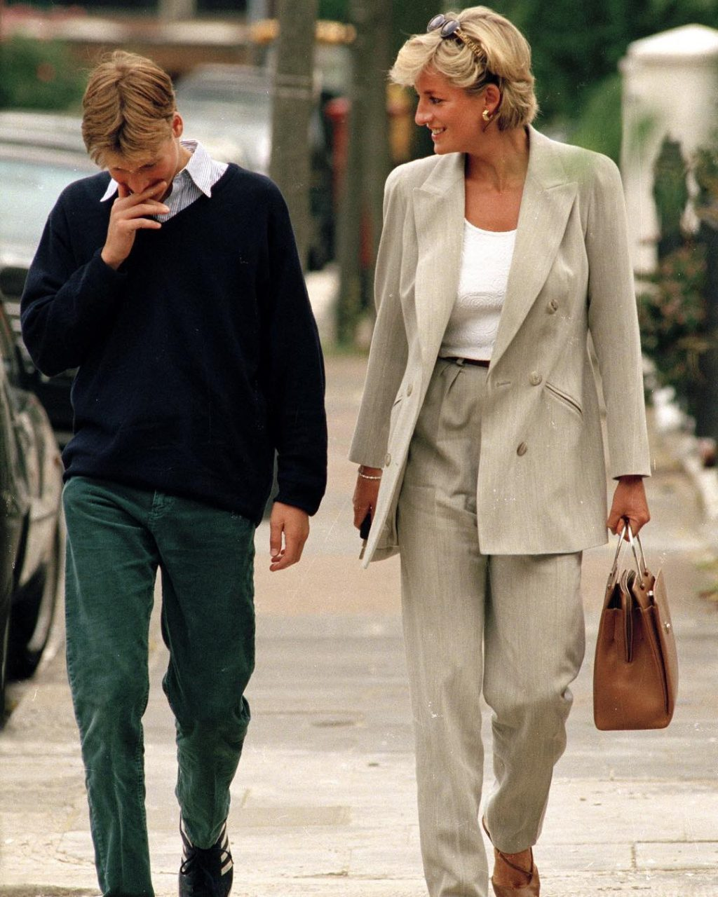 Let's Take a Minute to Dissect Diana's Off-Duty Style