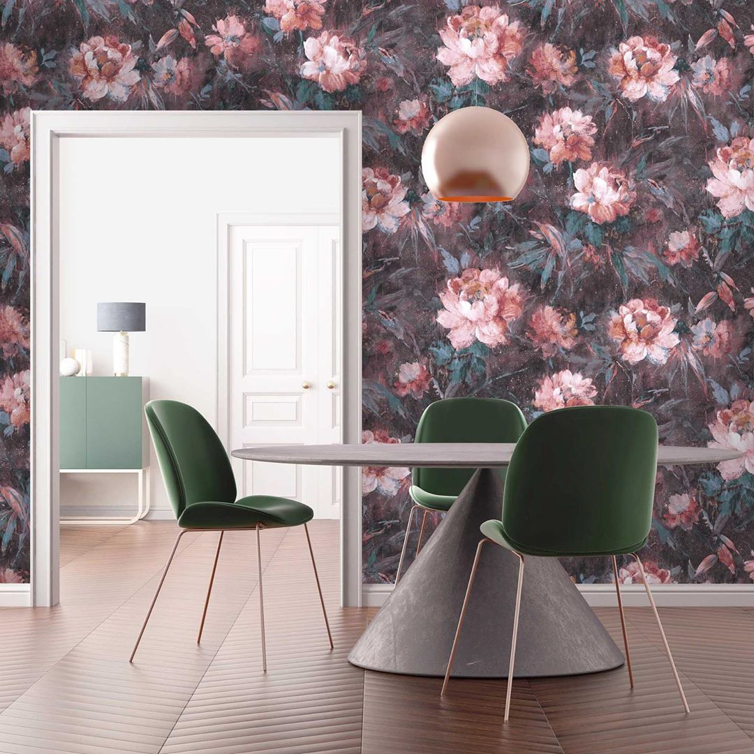 Eye Candy: Pinterest Was Spot On About Printed Wallpaper