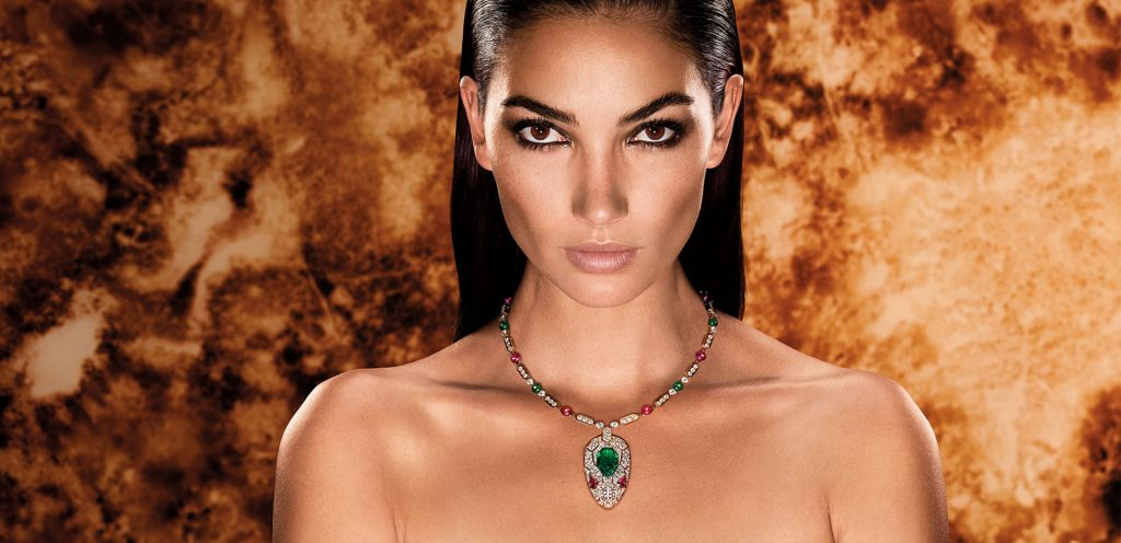 Lily Aldridge Embodies the Bvlgari Woman Like No Other