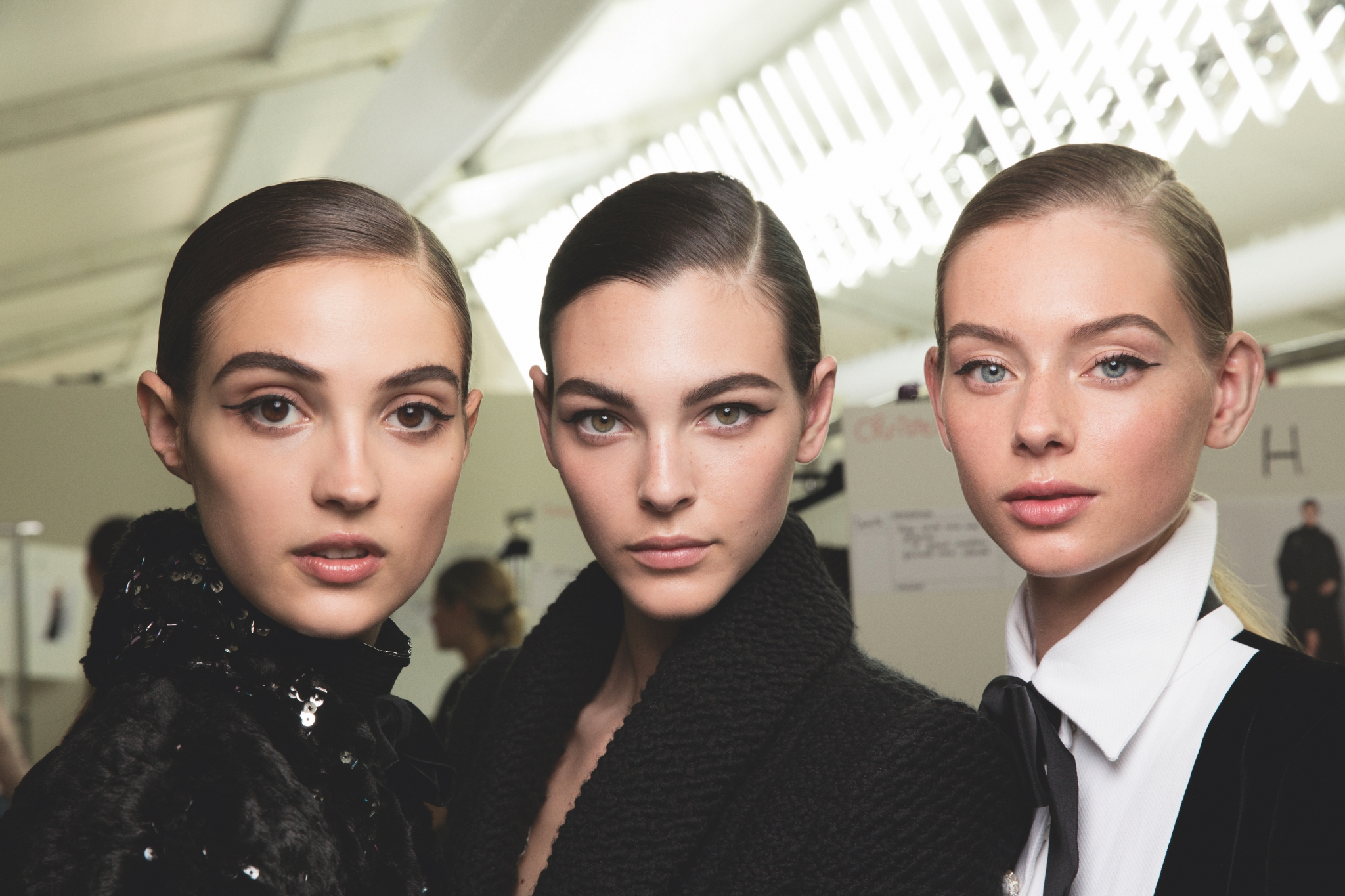 Chanel couture fall 2019 beauty