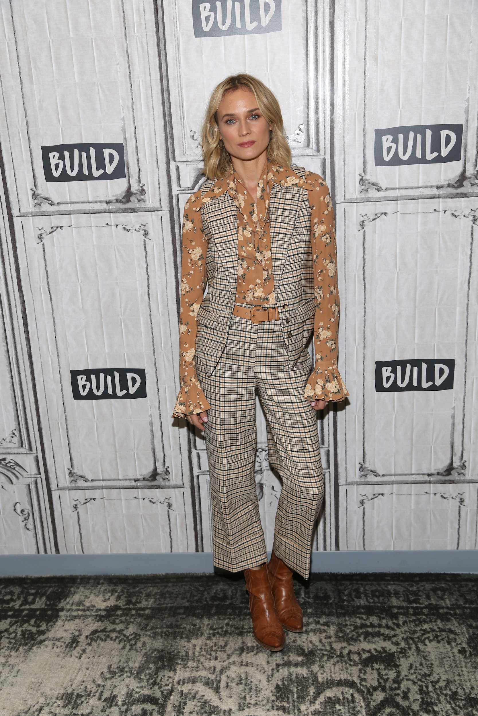 NEW YORK, NEW YORK - JULY 18: Diane Kruger attends Build Series to discuss her role in the film 'The Operative' at Build Studio on July 18, 2019 in New York City. (Photo by Manny Carabel/Getty Images)