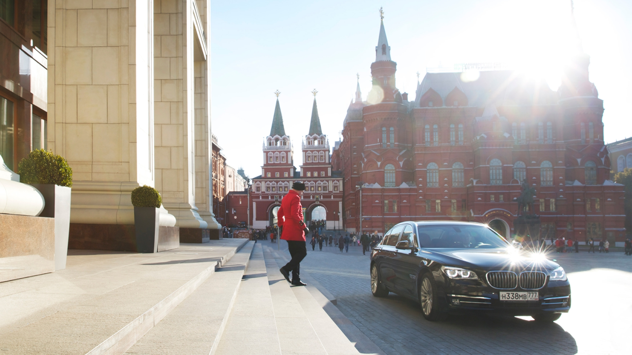 Four Seasons Hotel Moscow entrance