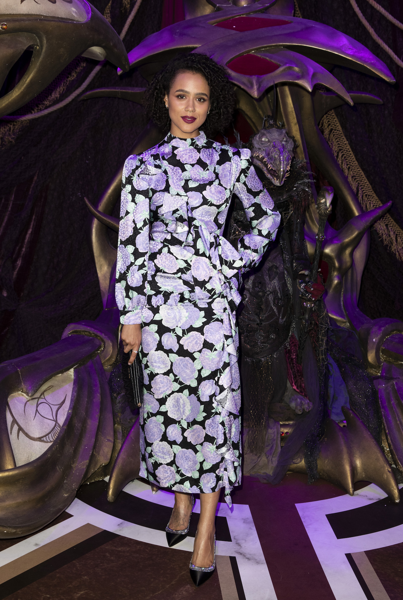 "LONDON, ENGLAND - AUGUST 22: Nathalie Emmanuel attends ""The Dark Crystal: Age of Resistance"" European Premiere at BFI Southbank on August 22, 2019 in London, England. (Photo by John Phillips/Getty Images)"