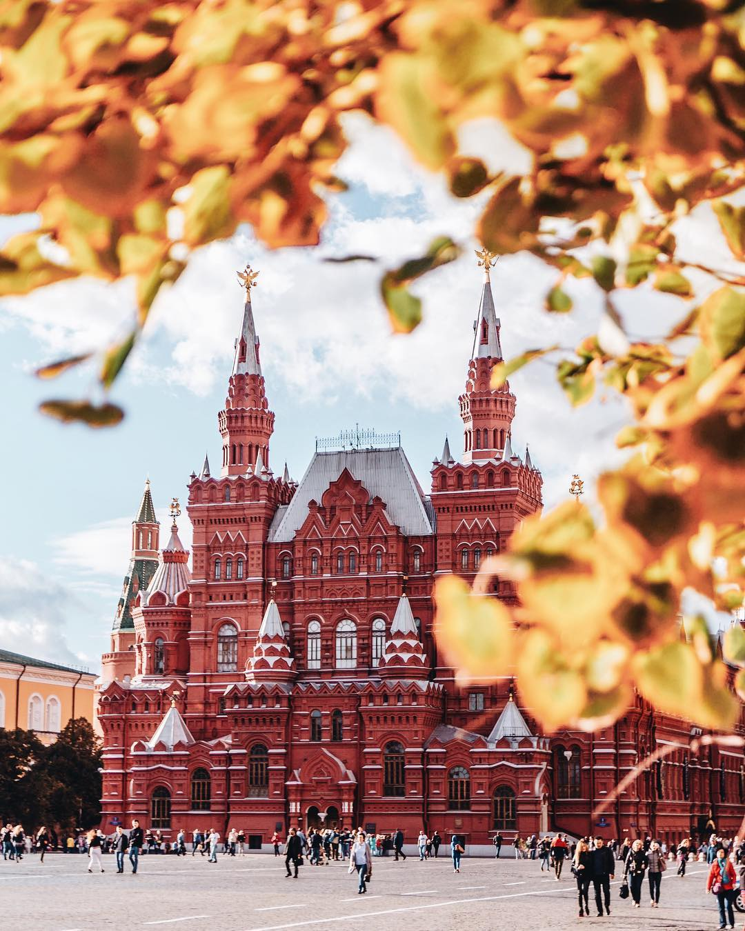 Moscow Red Square by evachug
