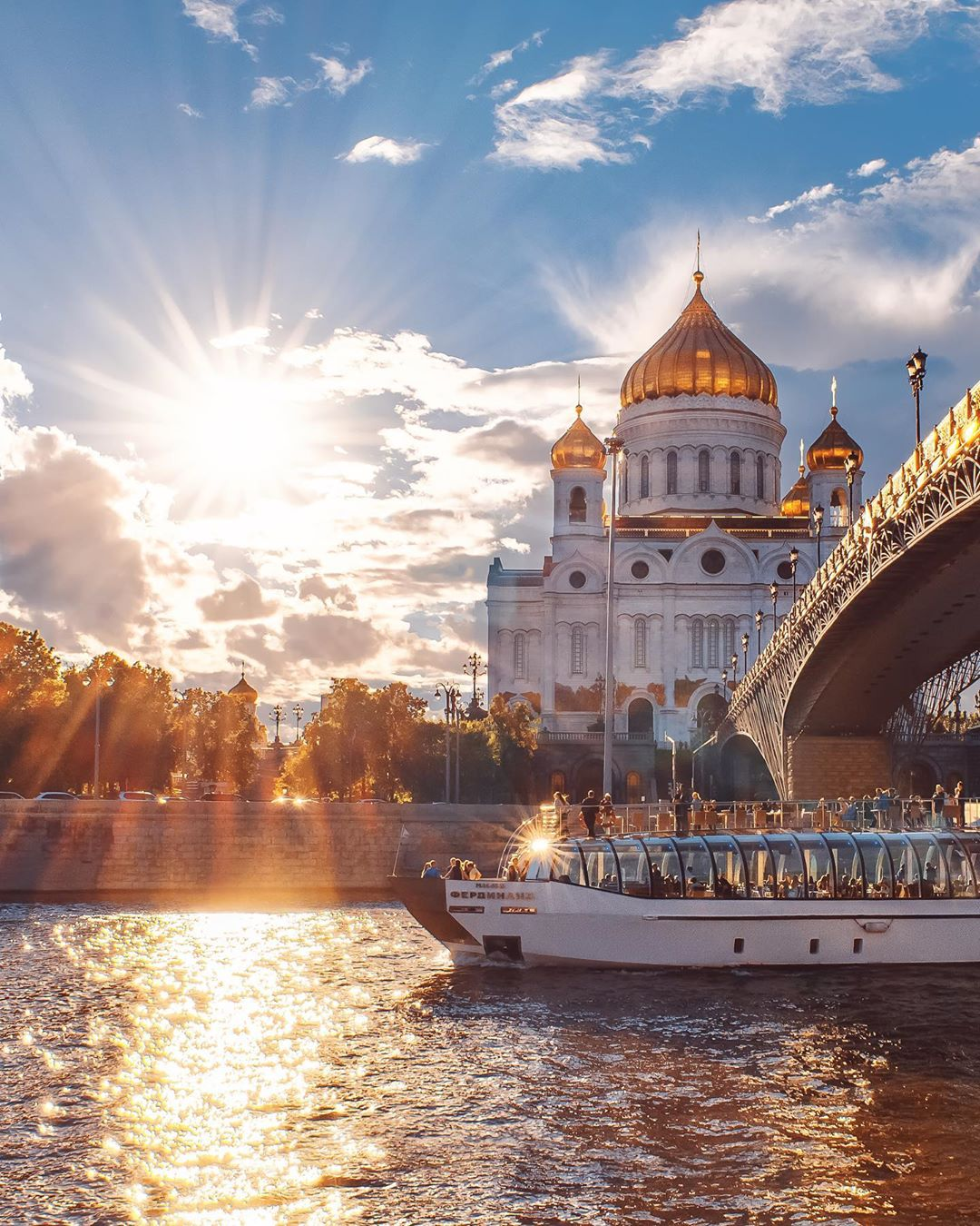 Moscow river cruise by mazurevanasta
