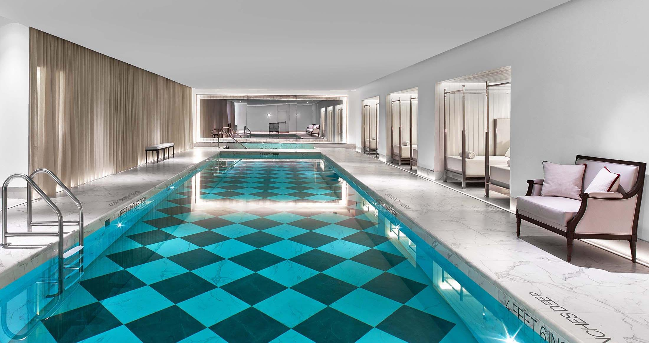 Baccarat Hotel New York pool spa
