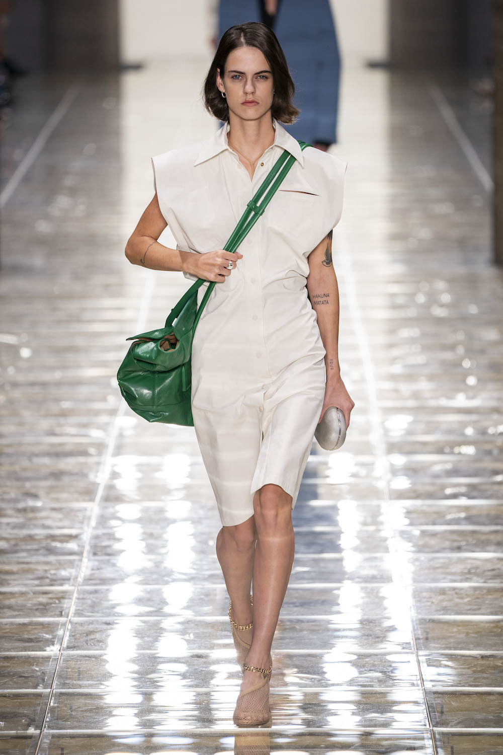 Surprise, Surprise: Bottega Veneta Is Cool and Unfussy for SS20