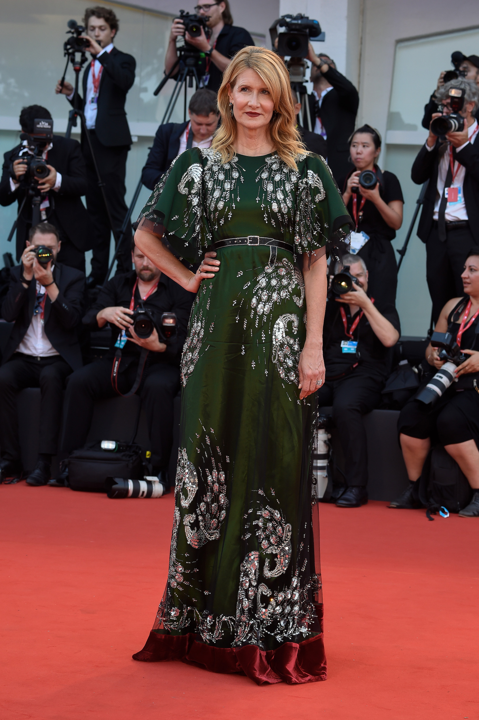 Laura Dern at the 76 Venice International Film Festival 2019. Marriage Story red carpet. Venice (Italy), August 29th, 2019 (Photo by Marilla Sicilia/Archivio Marilla Sicilia/Mondadori Portfolio via Getty Images)