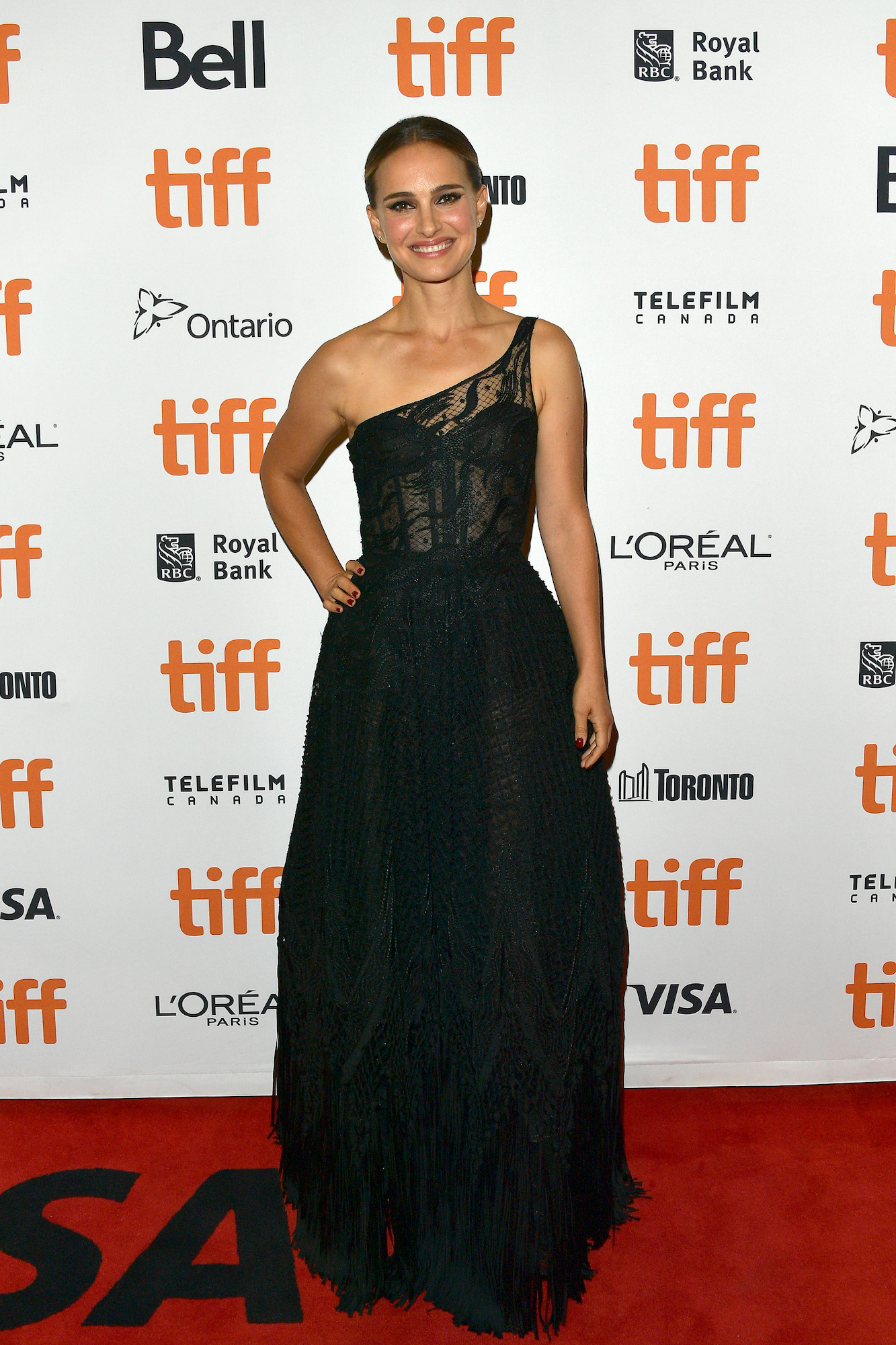 "TORONTO, ONTARIO - SEPTEMBER 11: Natalie Portman attends the ""Lucy In The Sky"" premiere during the 2019 Toronto International Film Festival at Princess of Wales Theatre on September 11, 2019 in Toronto, Canada. (Photo by George Pimentel/Getty Images)"