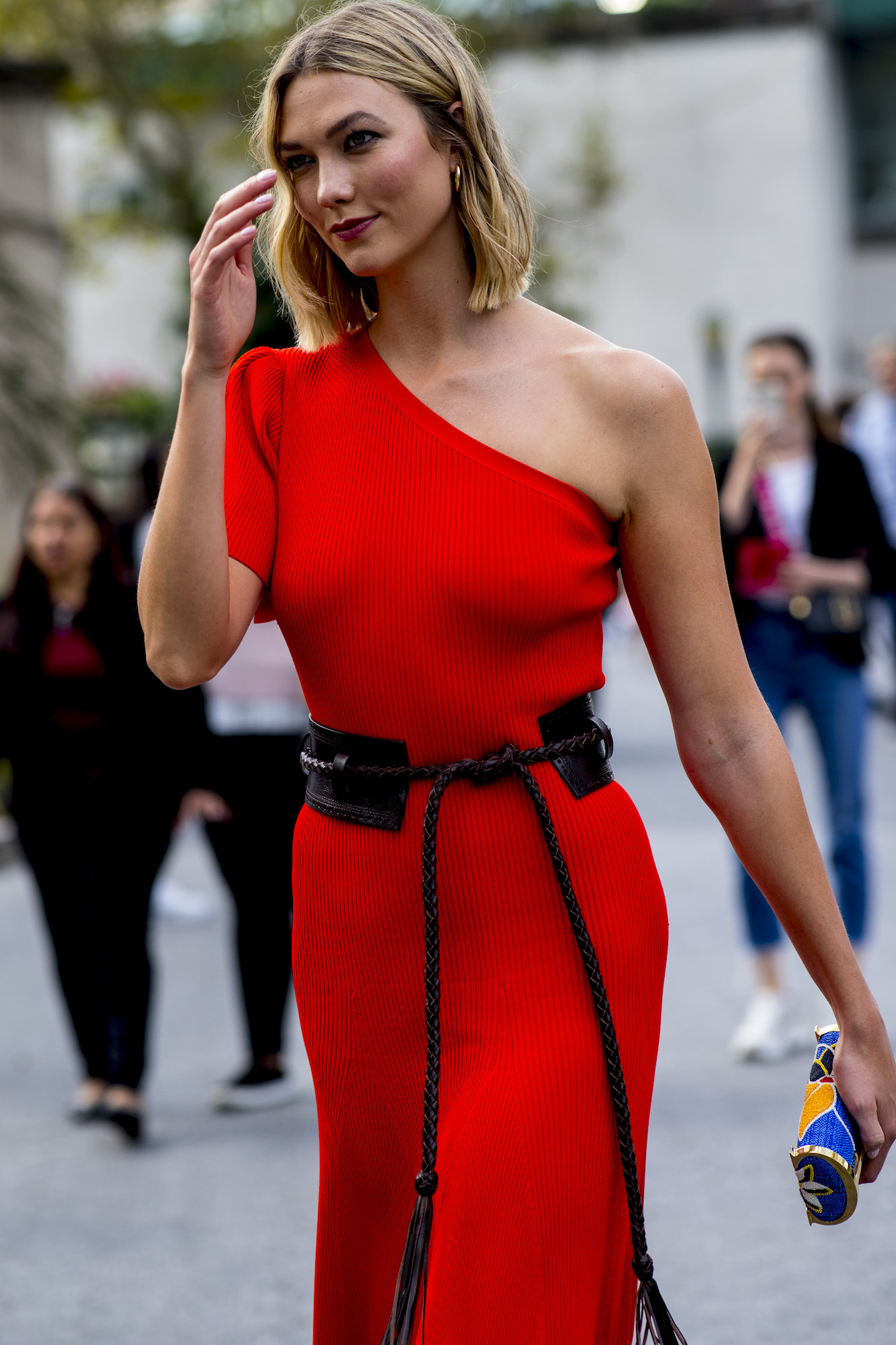 New York Fashion Week Spring/Summer 2020 street style - Karlie Kloss